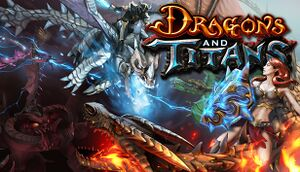 Dragons and Titans cover