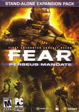 F.E.A.R. Perseus Mandate cover