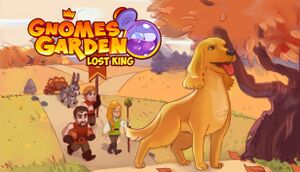 Gnomes Garden Lost King cover
