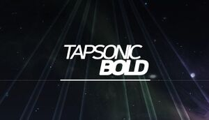 TAPSONIC BOLD cover