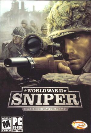 World War II: Sniper - Call to Victory cover