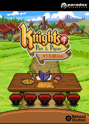 Knights of Pen and Paper +1 Edition cover