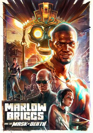Marlow Briggs and the Mask of Death cover