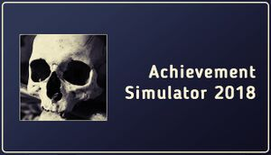 Achievement Simulator 2018 cover
