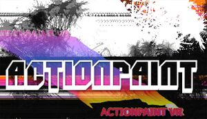 ActionpaintVR cover