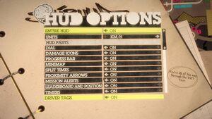 HUD Options