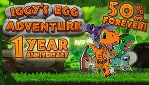 Iggy's Egg Adventure cover