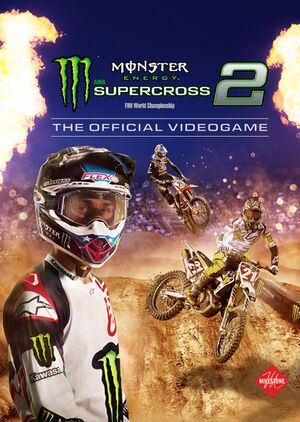Monster Energy Supercross - The Official Videogame 2 cover