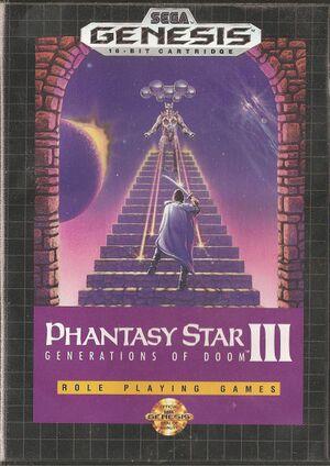 Phantasy Star III: Generations of Doom cover