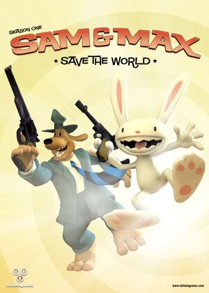Sam & Max Save the World cover