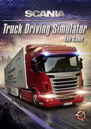 Scania Truck Driving Simulator cover