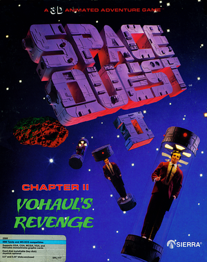 Space Quest II: Chapter II - Vohaul's Revenge cover