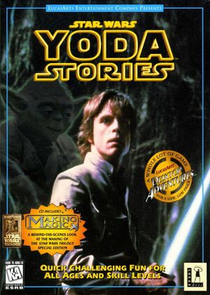 Star Wars: Yoda Stories cover