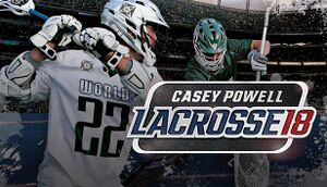 Casey Powell Lacrosse 18 cover