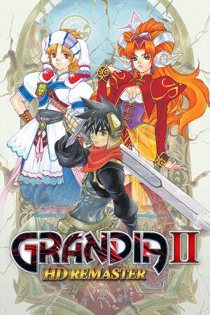 Grandia II Anniversary Edition cover