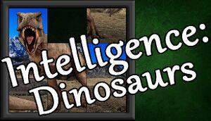 Intelligence: Dinosaurs cover