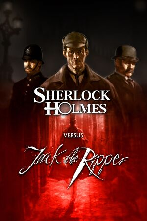 Sherlock Holmes versus Jack the Ripper cover
