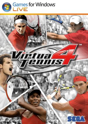 Virtua Tennis 4 cover