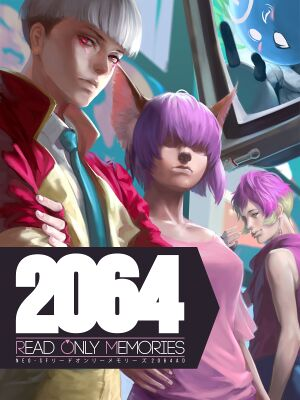 2064: Read Only Memories cover