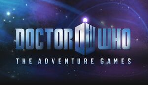 Doctor Who: The Adventure Games cover