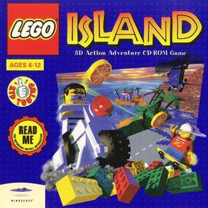 Lego Island cover