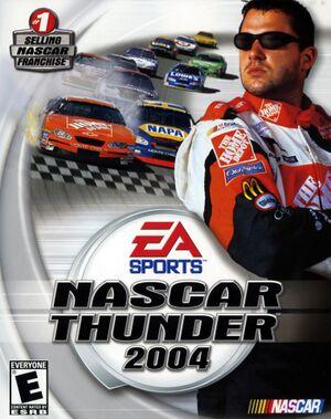 NASCAR Thunder 2004 cover