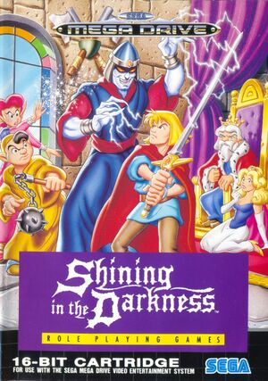 Shining in the Darkness cover