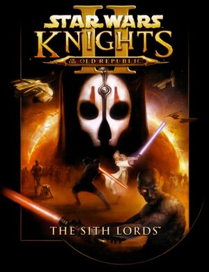 Star Wars: Knights of the Old Republic II - The Sith Lords cover
