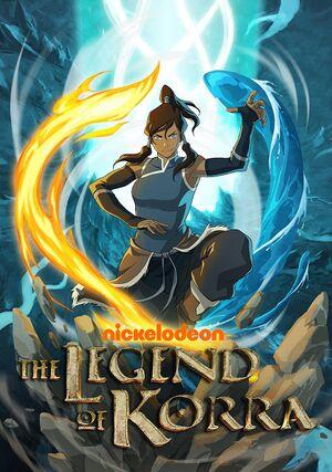 The Legend of Korra cover