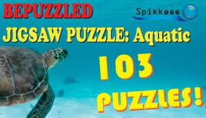 Bepuzzled Jigsaw Puzzle: Aquatic cover