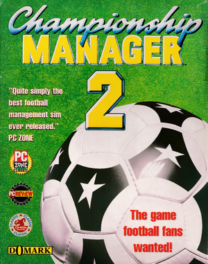 Championship Manager 2 cover