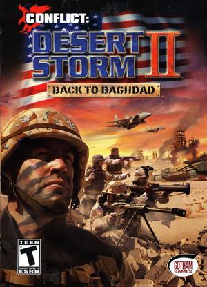 Conflict: Desert Storm II cover
