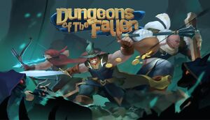 Dungeons of the Fallen cover