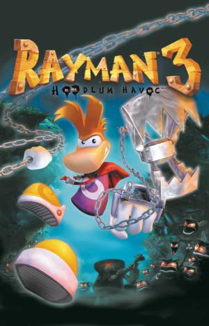 Rayman 3: Hoodlum Havoc cover