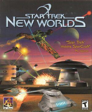 Star Trek: New Worlds cover