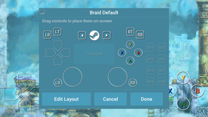 Steam Link Touch Controller cover
