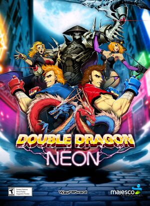 Double Dragon: Neon cover