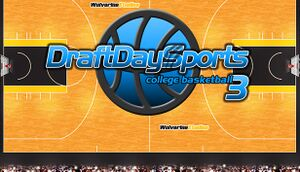 Draft Day Sports: College Basketball 3 cover