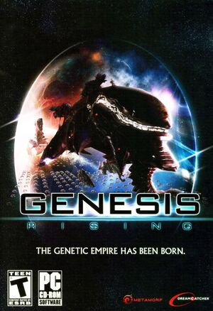 Genesis Rising: The Universal Crusade cover