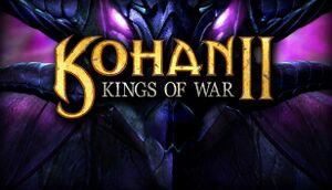 Kohan II: Kings of War cover