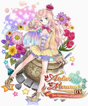 Atelier Meruru The Apprentice of Arland DX cover.jpg
