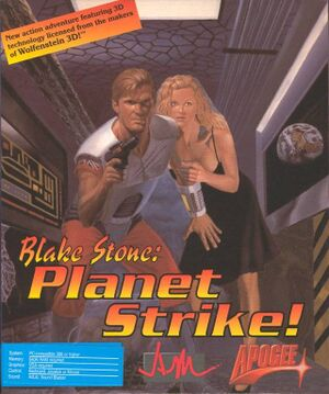 Blake Stone: Planet Strike cover