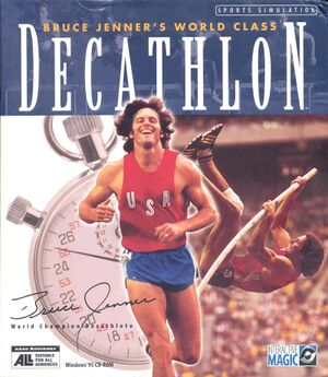 Bruce Jenner's World Class Decathlon cover