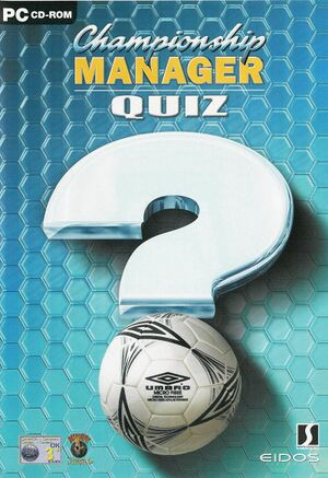 Championship Manager Quiz cover