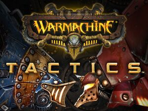 WARMACHINE: Tactics cover