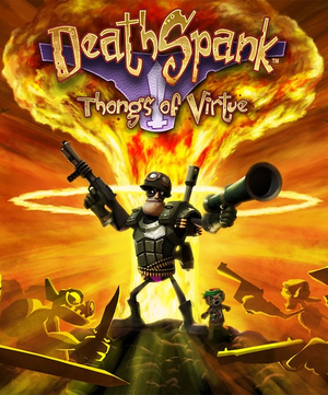 DeathSpank: Thongs of Virtue cover