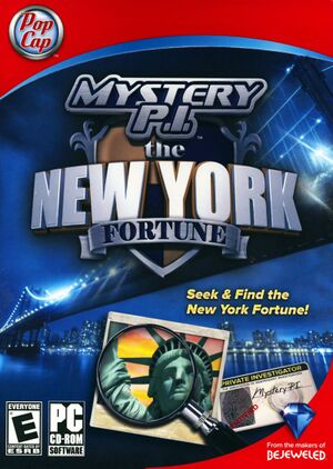 Mystery P.I. - The New York Fortune cover