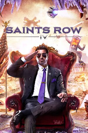 Saints Row IV cover