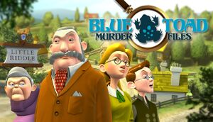 Blue Toad Murder Files: The Mysteries of Little Riddle cover