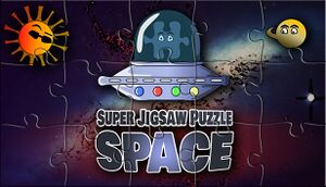 Super Jigsaw Puzzle: Space cover